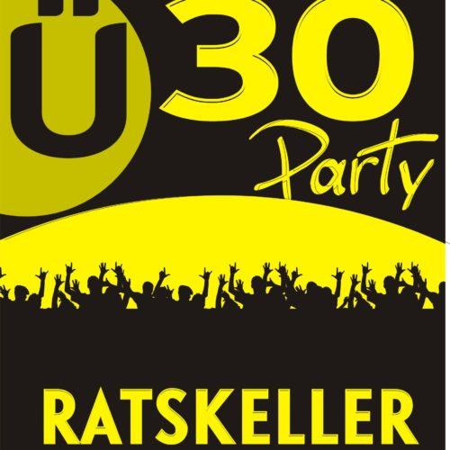 Ü30 Party Logo